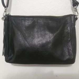 The Sak Black Leather Crossbody